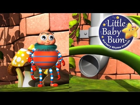 Incy Wincy Spider - nursery rhymes. HD version