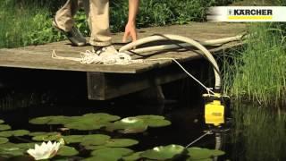 Kärcher SCP 5000 drenažinis siurblys - purvinas vanduo