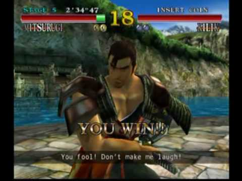 Soul Calibur (Dreamcast) Gameplay