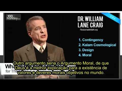 O melhor argumento para a existência de Deus - William Lane Craig