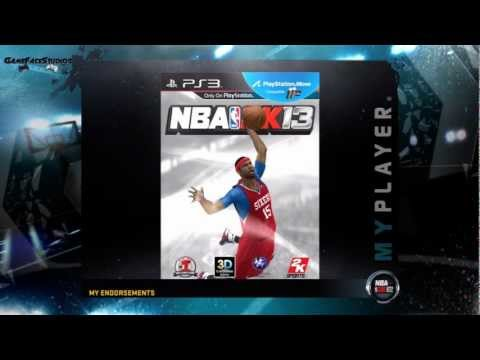 NBA 2K12: My Player - NBA 2K13 Cover Endorsement Feat. My Athletic PG