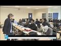 لاجئون يتعلمون الفرنسية للدخول إلى جامعة ليل  - 15:21-2017 / 2 / 17