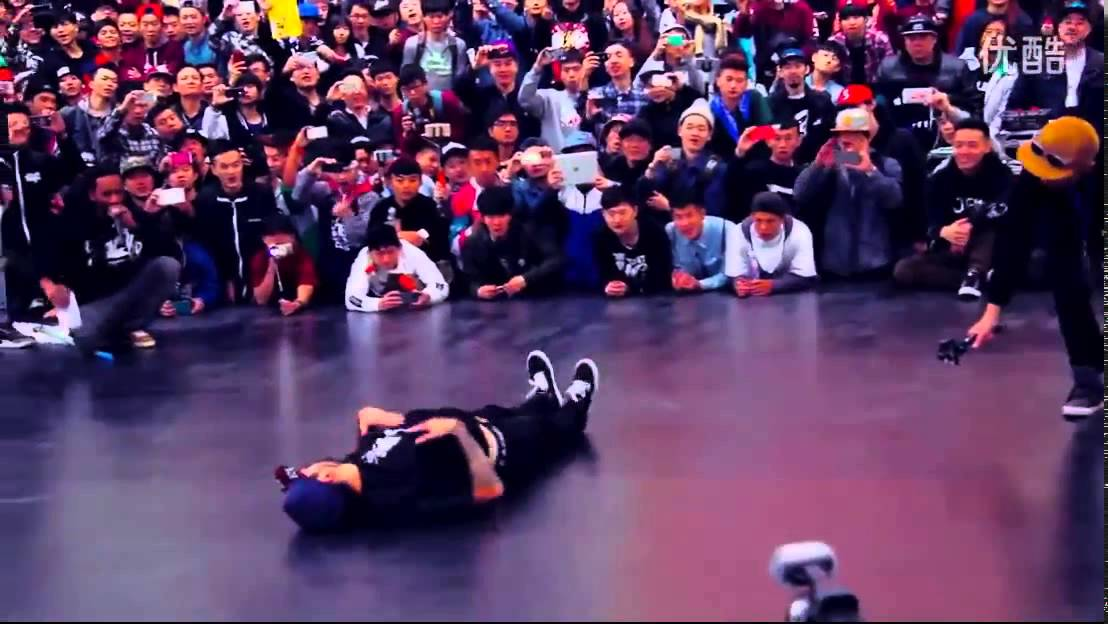 Chao 1st  Flexum Bboy Casper Physicx Benji in China 2014