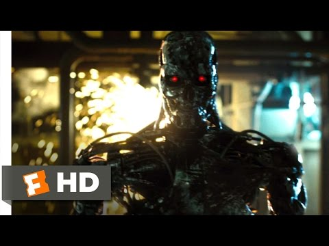 Terminator Salvation (10/10) Movie CLIP - T-800 Factory ... poster