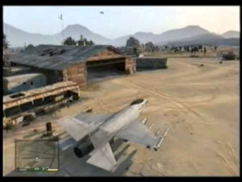 GTA 5 FUNNY HANGAR TO STORE PLANES EARLY IN THE GAME.. FUNNY HOW?