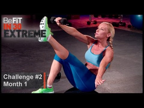 Abs- Workout Challenge 2: Susan Becraft | BeFit in 30 Extreme (Month one)