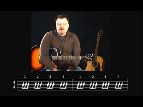 Gitarre Lernen - Blues Rhythmus