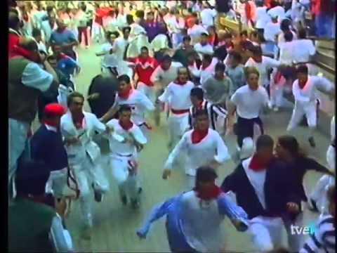 Encierro de San Fermín   14 de julio de 1997 480p