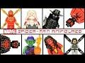 Spider-Man Spider-Woman Spider-Gwen Scarlet Spider Green Goblin LEGO KnockOff Minifigure Set