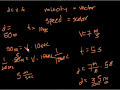 Фрагмент с средины видео - Introduction to motion