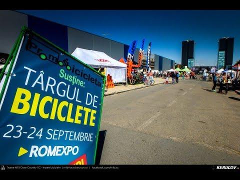 VIDEOCLIP Targul de Biciclete Bucuresti 2017 (Bucuresti, ROMEXPO, 23 - 24 septembrie 2017)