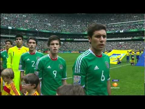 Mexico vs Uruguay (Himno nacional) Final Mundial sub 17