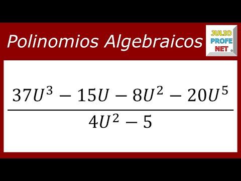 División entre polinomios