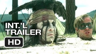 The Lone Ranger Official International Trailer (2013) - Johnny Depp Movie HD