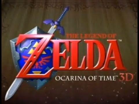 Legend Of Zelda: Ocarina of Time 3DS - Official Trailer