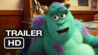 Monsters University Official Trailer (2013) Monsters Inc Prequel Pixar Movie HD