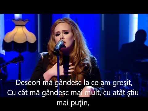 Adele - Don't you remember   Romana