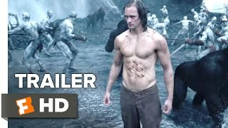 The Legend of Tarzan Official Trailer #2 (2016) - Alexander Skarsg�rd, Margot Robbie Movie HD