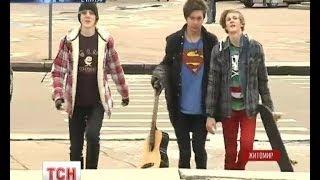 Трое подростков из Житомира ради славы разбивают себе головы