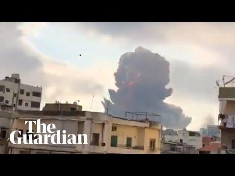 Ливаны нийслэл Бейрут хотод болсон хүчтэй дэлбэрэлт