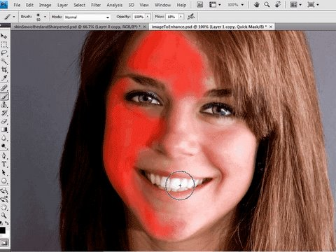[HD] Smooth Skin and Sharpen: Photoshop Tutorial