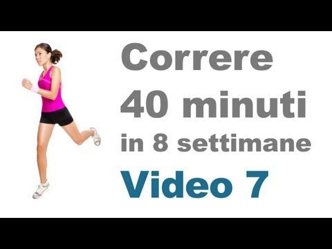 Correre - Allenamento per Mettersi in Forma (Video 7)