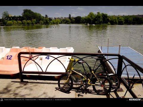 VIDEOCLIP Cu bicicleta prin Bucuresti - 16: Parcul Alexandru Ioan Cuza, cu bicicleta si hidrobicicleta