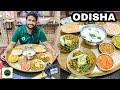 Odia Thali & Pakhala with my Family   Odisha Food with Veggiepaaji