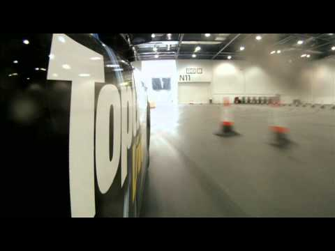 The Stig, Chris Evans and a 400bhp Black Cab (www.topgearlive.co.uk)