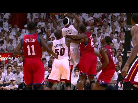 LeBron leads Heat to Game 1 Victory