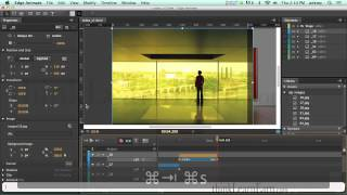 Adobe edge animate tutorials How to make an interactive slide show online video course HTML5 gallery