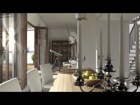 C4D 3D Architecture Animation interior exterior