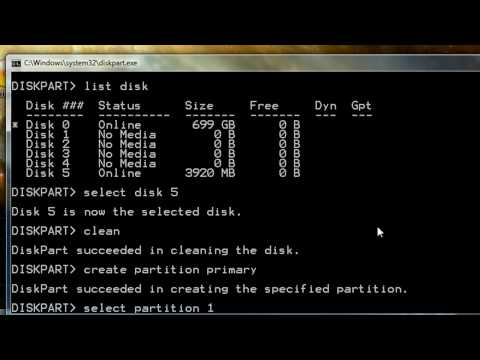 Create Bootable USB Flash Drive for Windows 7 or Vista Netbook Install