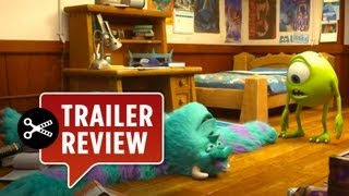 Instant Trailer Review - Monsters University (2013) Trailer Review HD