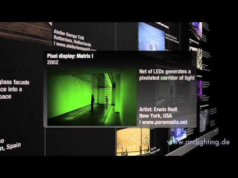 Light Architecture: Luminous Walls