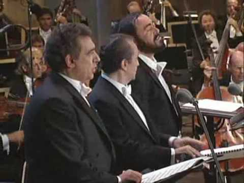 Libiamo ne' lieti calici - Three tenors - Brindisi - Pavarotti, Carreras, Domingo