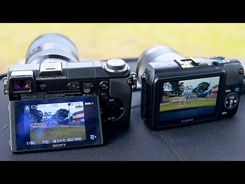 Canon EOS M VS Sony NEX 6 - what to buy?