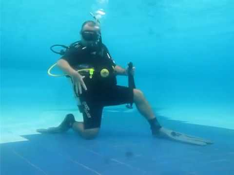 Scuba Diving Skill Demonstration for IDC and/or Divemaster