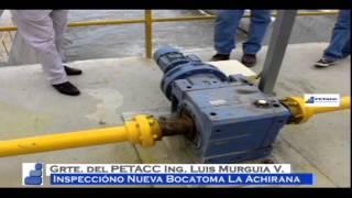 Inspeccion a la nueva Bocatoma La Achirana