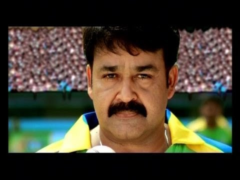 Mohanlal practicing for Celebrity Cricket League, Mohanlal bowling practice