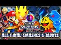 Super Smash Bros Wii U & 3DS - (1080p) ALL FINAL SMASHES & TAUNTS (51 Total)