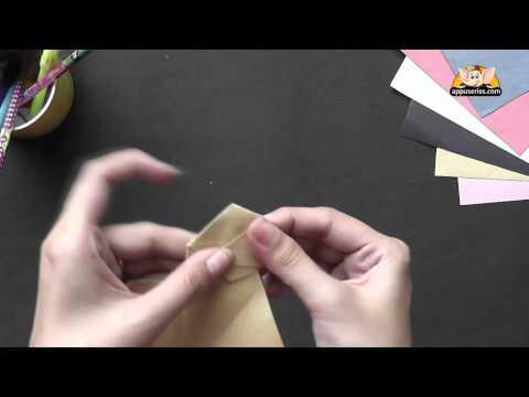 Origami in Marathi - How to make a Barking Dog
