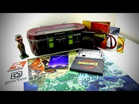 Borderlands 2 Ultimate Loot Chest Unboxing (Borderlands 2 Loot Chest Limited Edition Unboxing)