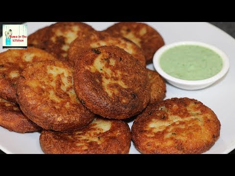 Crispy Chatpati Aloo Tikki Eggless No Bread Crumbs Easy Snacks Recipe by (HUMA IN THE KITCHEN)
