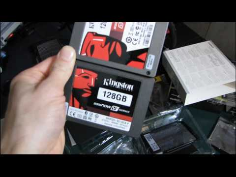 Kingston SSDnow V+ 128GB SSD Performance Upgrade Kit Unboxing & First Look Linus Tech Tips