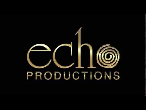 Echo Productions Logo Animation - After Effects, Photoshop, Illustrator, Fontlab, Optical Flares