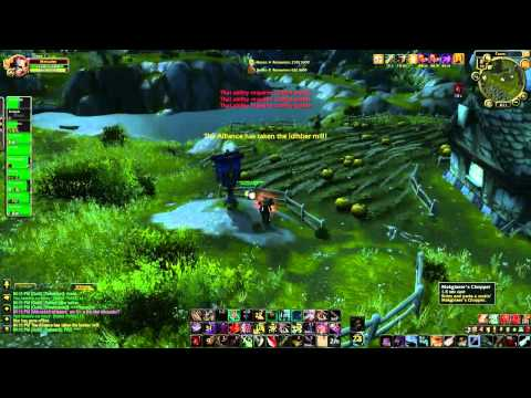 Mercader - 5 Cap AB RBG Action (WoW Gameplay / Commentary)