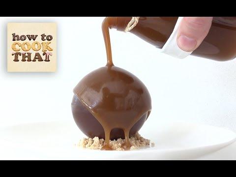 CHOCOLATE CARAMEL PEANUT BOMB How To Cook That Dessert