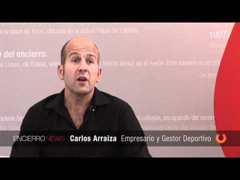 Carlos Arraiza ¿Qué opinion te merece el Museo del Encierro?