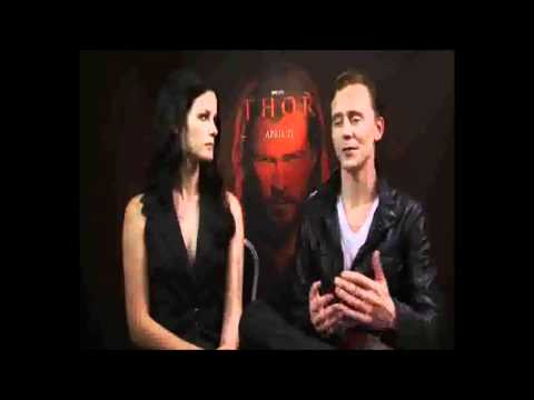 Interview with Thor actors Tom Hiddleston and Jaimie Alexander